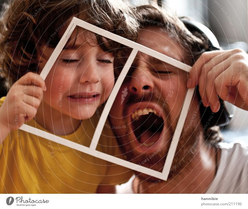 Human being Child Man White Joy Yellow Boy (child) Mouth Funny Adults Masculine Energy Crazy Scream Father Infancy