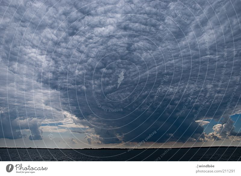 Nature Sky Ocean Blue Summer Black Far-off places Dark Cold Gray Landscape Air Power Coast Weather Environment