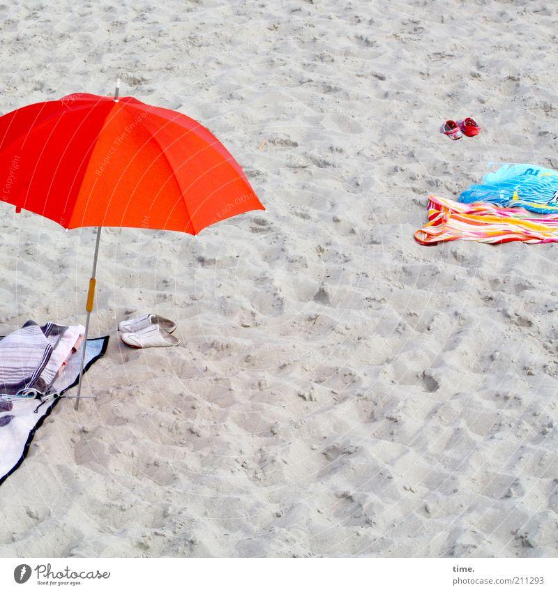 Red Summer Beach Vacation & Travel Sand Footwear Sunshade Umbrellas & Shades Blanket Towel Weather protection Summer vacation Bath towel Beach life Swimwear