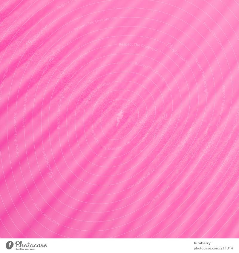pink plastic Art Work of art Media Print media New Media Kitsch Neutral Background Pink Structures and shapes Line Plastic Illustration Pattern Colour photo