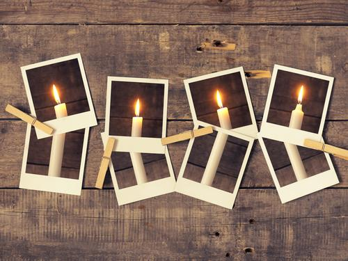Fourth Advent Winter Christmas & Advent Retro Tradition candle candlelight card merry conceptual december fourth eve old stylized wooden fourth Advent