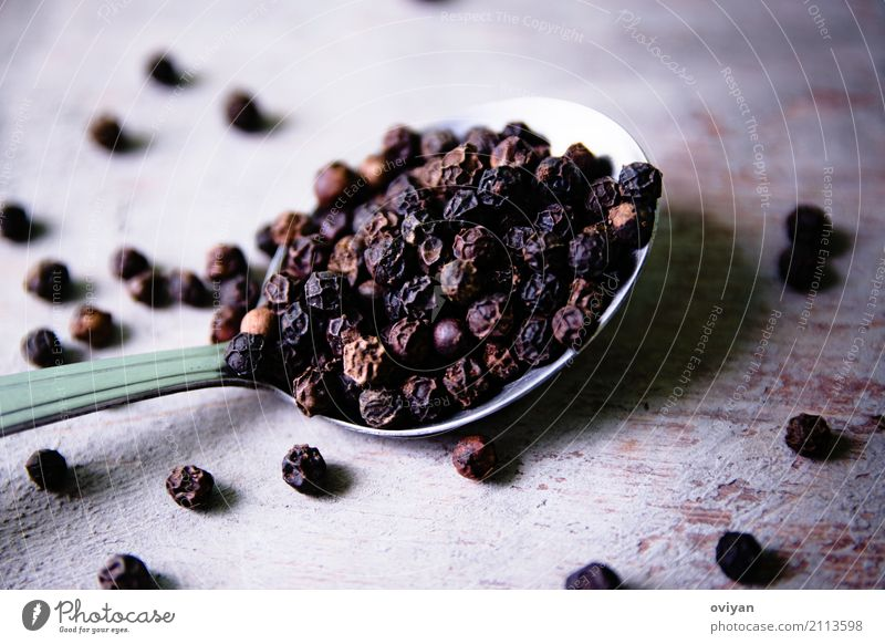 Pepper Food Herbs and spices Nutrition Eating Organic produce Vegetarian diet Diet Spoon Dark Exotic Firm Fresh Healthy Good Small Near Natural Round Clean Dry