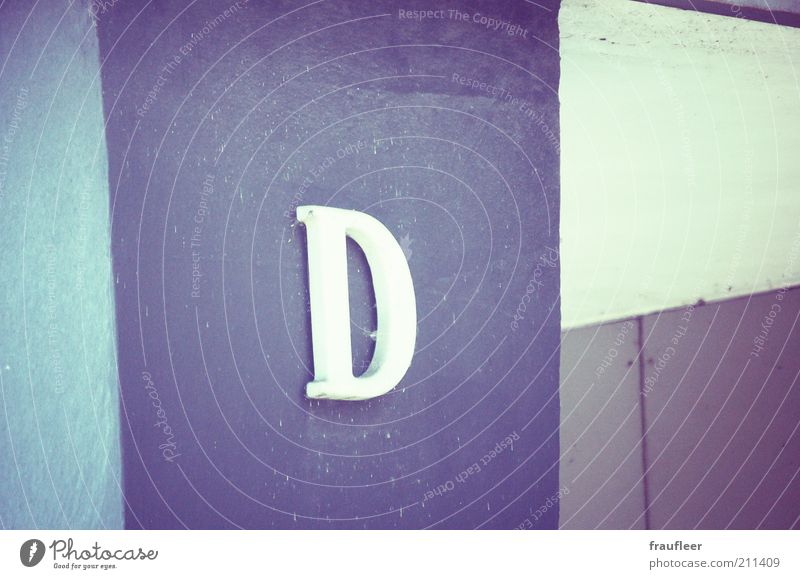 Wall (building) Wall (barrier) Building Facade Characters Letters (alphabet) Sign Column D