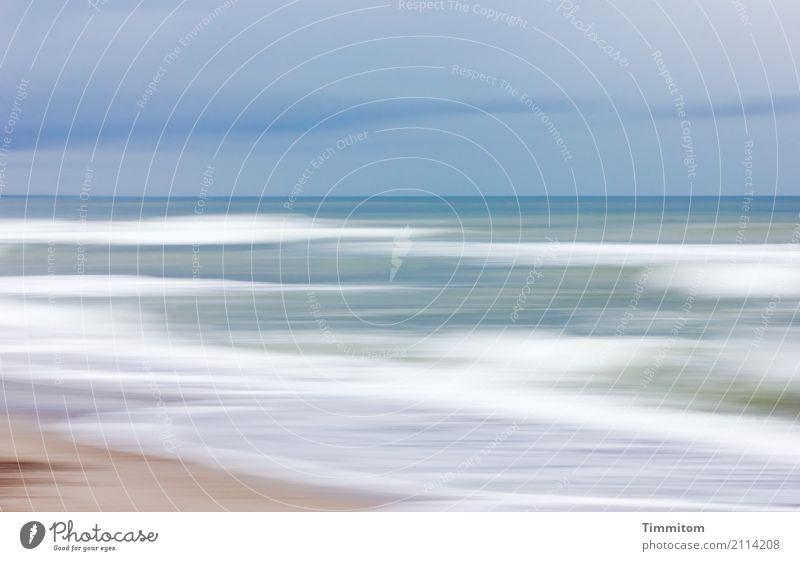 Sky Nature Blue Water White Calm Beach Environment Healthy Natural Brown Sand Waves Air Esthetic Fresh