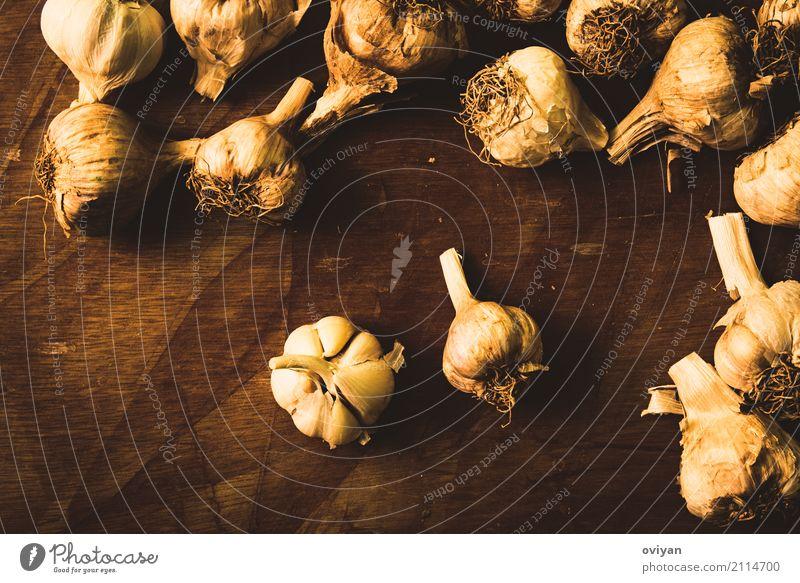 Garlic Eating Healthy Food Nutrition Fresh Herbs and spices Vegetable Organic produce Sense of taste Vegetarian diet Diet Cooking Aromatic Raw Ingredients