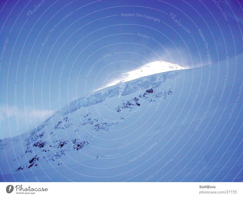 Winter Snow Mountain Ice Glacier