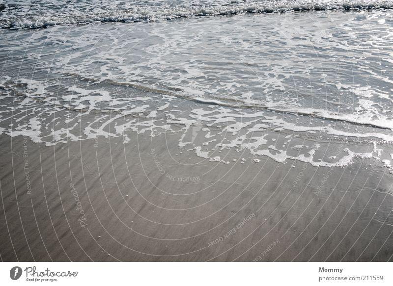 Nature Water Ocean Beach Sand Coast Waves Wet Beautiful weather Flow Environment Sandy beach