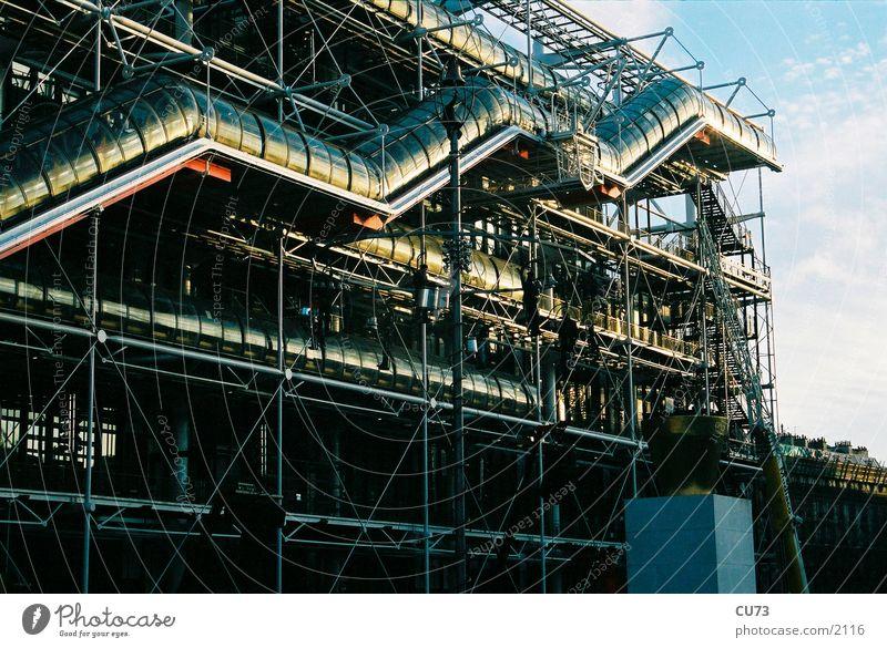 CENTR POMPIDOU 02 Pompidou center Manmade structures Architecture
