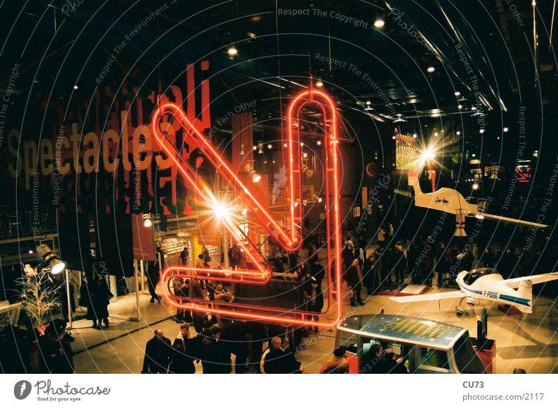 Advertising Neon light Flashy Symbols and metaphors Photographic technology