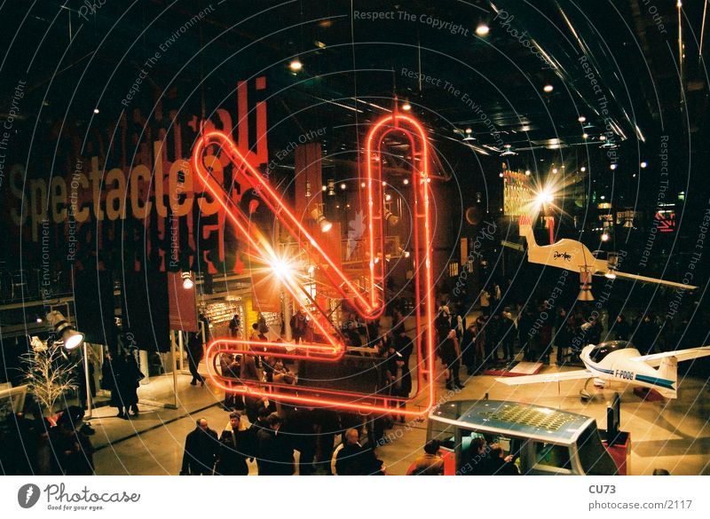 NEON 01 Neon light Advertising Light Flashy Photographic technology