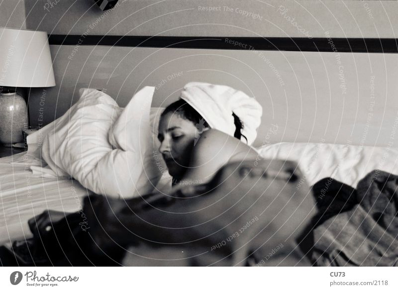 GIRL Woman Sleep Relaxation Human being