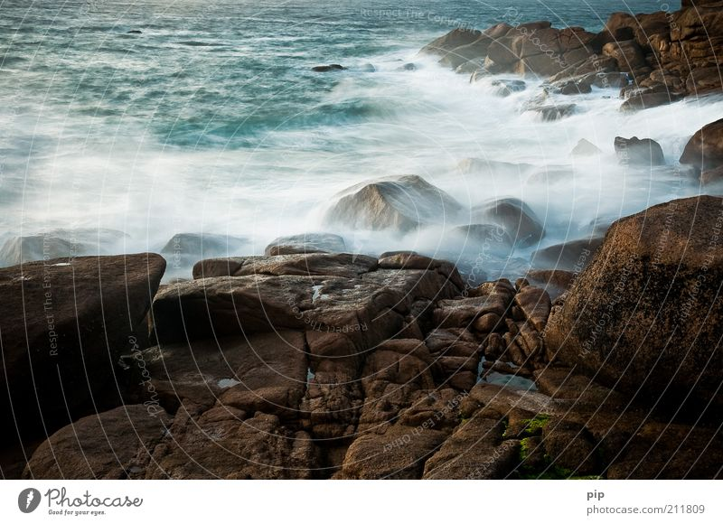 Nature Water Blue Ocean Loneliness Dark Cold Coast Stone Brown Waves Time Wind Rock Wet Wild