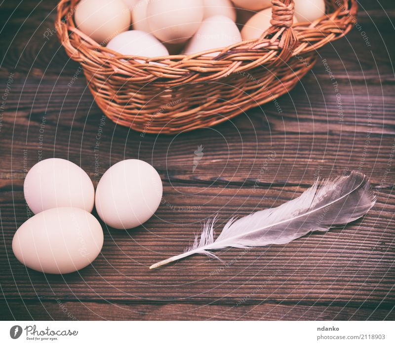 Raw chicken eggs Eating Breakfast Diet Table Easter Nature Wood Fresh Natural Above Tradition Chicken Organic Farm Tasty healthy Shell Fragile Ingredients