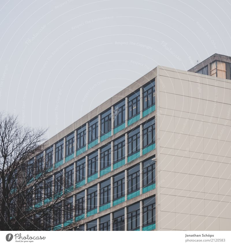 Town House (Residential Structure) Winter Window Architecture Wall (building) Cold Wall (barrier) Facade High-rise Esthetic Gloomy Academic studies
