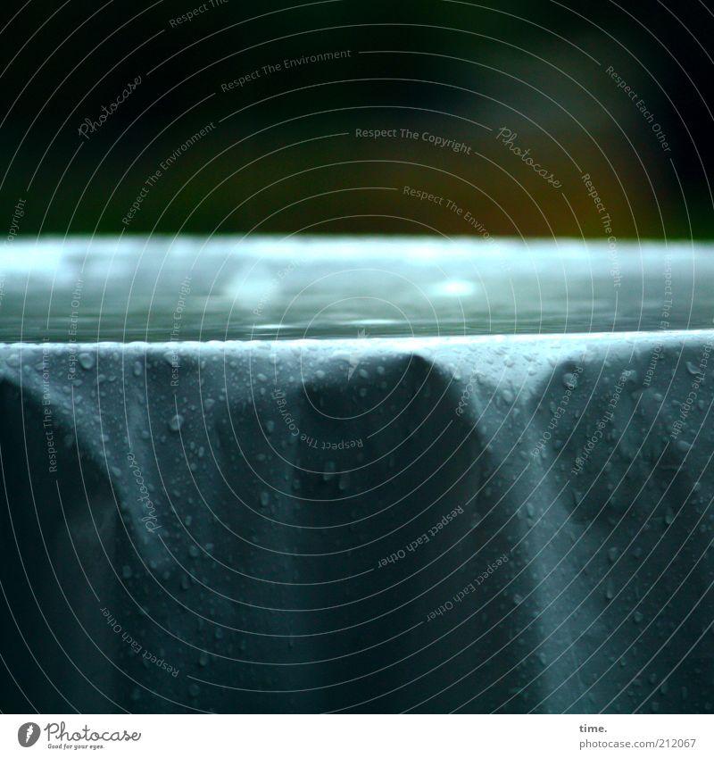 Water Blue Dark Rain Weather Wet Drops of water Table Drop Wrinkles Damp Storm Puddle Rainwater Folds