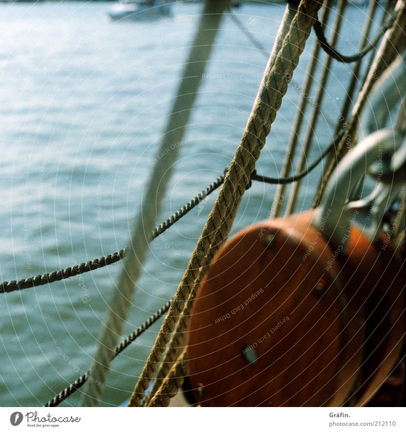 Water Blue Wood Brown Adventure Rope Tourism Harbour Mobility Navigation Dew Nostalgia Wanderlust Tradition Elbe Surface of water