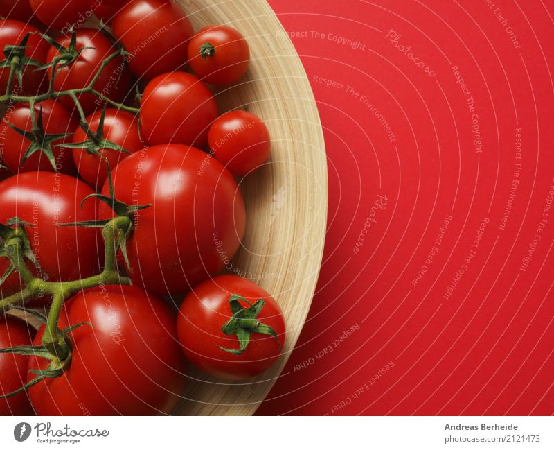 Red tomatoes Vegetable Organic produce Vegetarian diet Delicious agriculture assortment bamboo bowl cherry food fresh freshness ingredient juicy natural organic