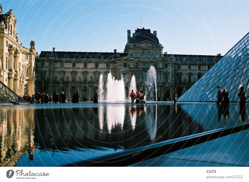 LOUVRE 03 Paris Louvre Manmade structures Architecture