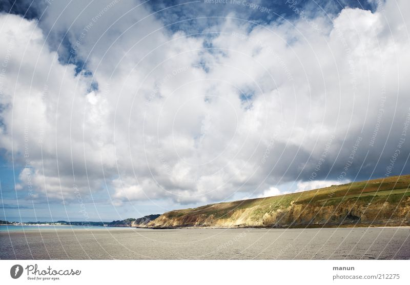 Brittany, clouds over l'Aber Vacation & Travel Tourism Far-off places Freedom Summer Summer vacation Environment Nature Landscape Elements Earth Sand Clouds