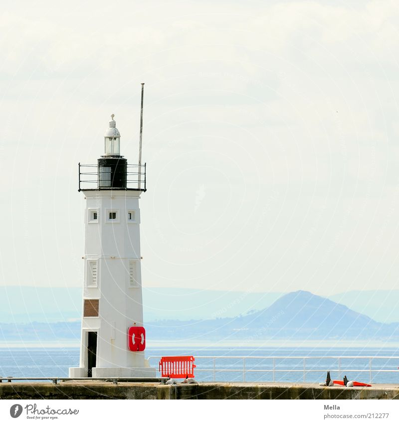 It was a beautiful day, Vacation & Travel Trip Far-off places Summer Summer vacation Ocean Environment Landscape Coast Island Lighthouse Manmade structures
