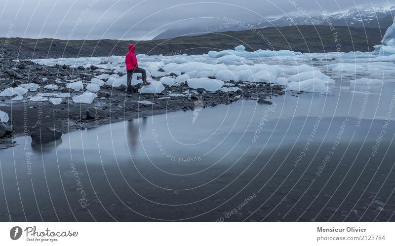 Jökulsárlón Glacier Lagoon, Iceland Nature Landscape Climate Frost Waves Coast Travel photography Iceberg glacier lagoon Colour photo Exterior shot