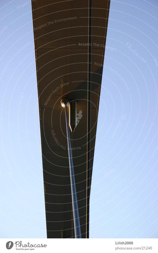 Bridge in Maastricht Netherlands Steel Prop Silver Sky Blue