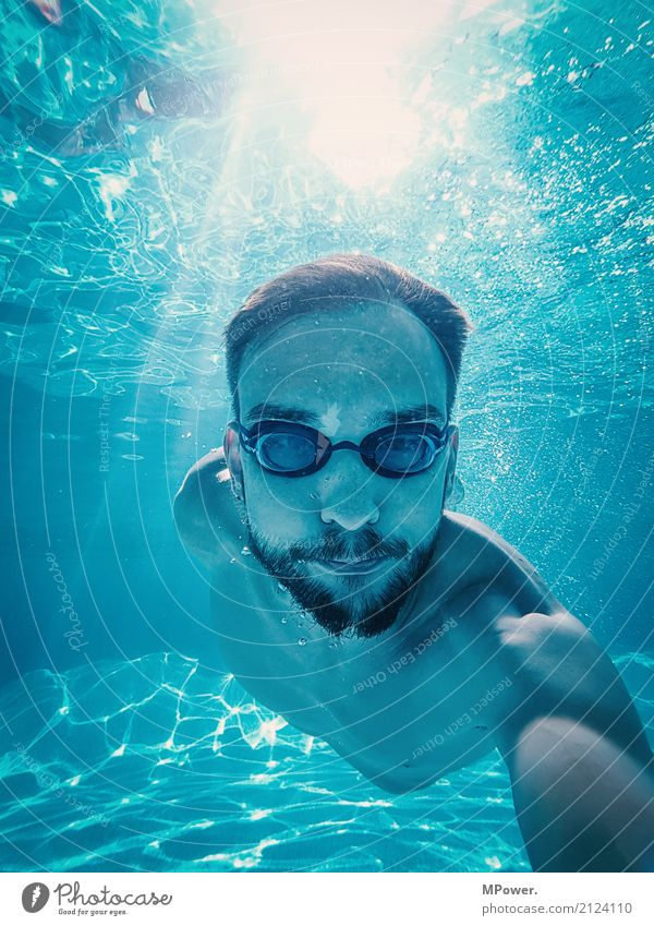 underwaterselfie Lifestyle Joy Athletic Fitness Leisure and hobbies Vacation & Travel Tourism Sports Sports Training Human being Masculine Young man