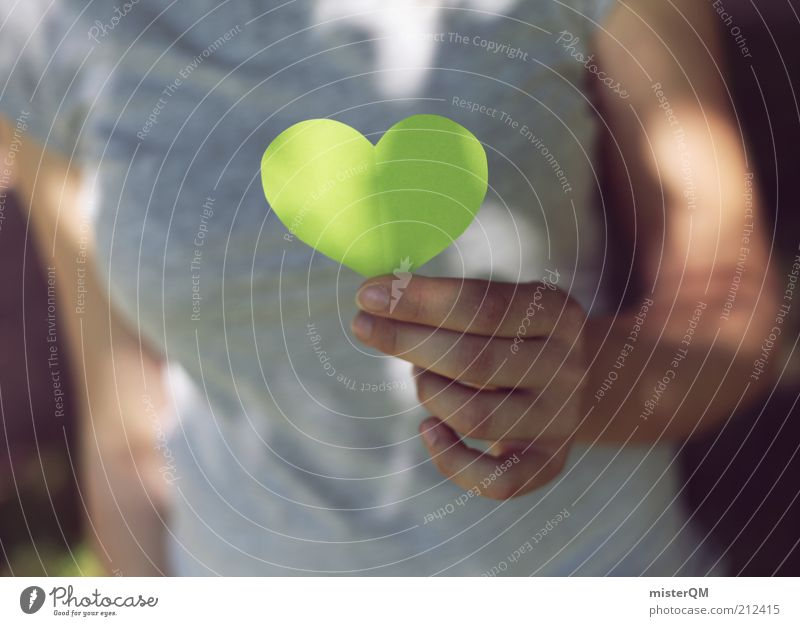 Going green. Environment Nature Contentment Peace Fairness Hope Innovative Dream Environmental protection Transience Trust Advertising Heart Green Consciousness