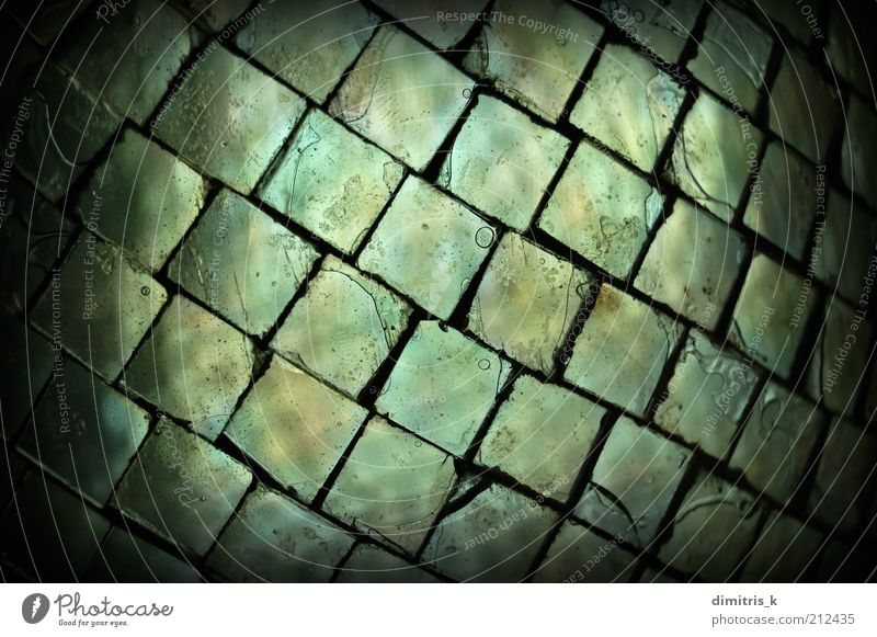 glass squares Old Black Dark Glass Background picture Places Transparent Air bubble Material Crack & Rip & Tear Surface Set Minimal Grunge Vignetting