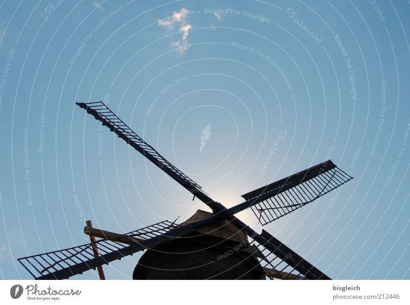 Sky Blue Wind Craft (trade) Blue sky Diligent Mill Windmill Cloudless sky Windmill vane