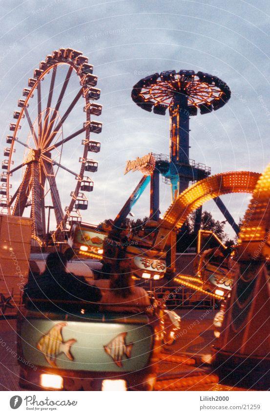 Leisure and hobbies Fairs & Carnivals Neon light Ferris wheel Squid Octopus