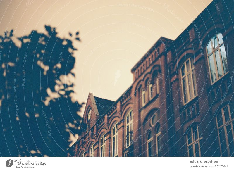 Home Sweet Home Bremen Old town Building Architecture Wall (barrier) Wall (building) Facade Window Roof Vintage Colour photo Subdued colour Exterior shot