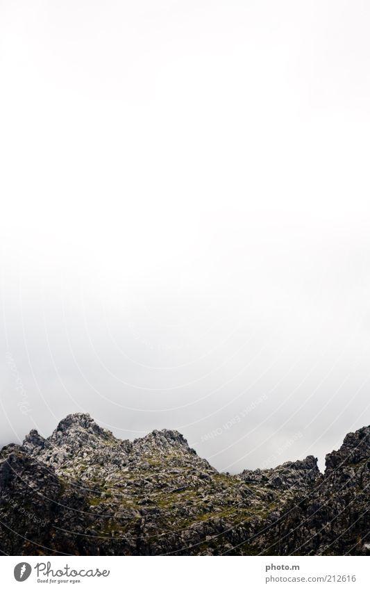 Nature Sky Loneliness Mountain Stone Landscape Environment Rock Hill Peak Spain Majorca Gravel