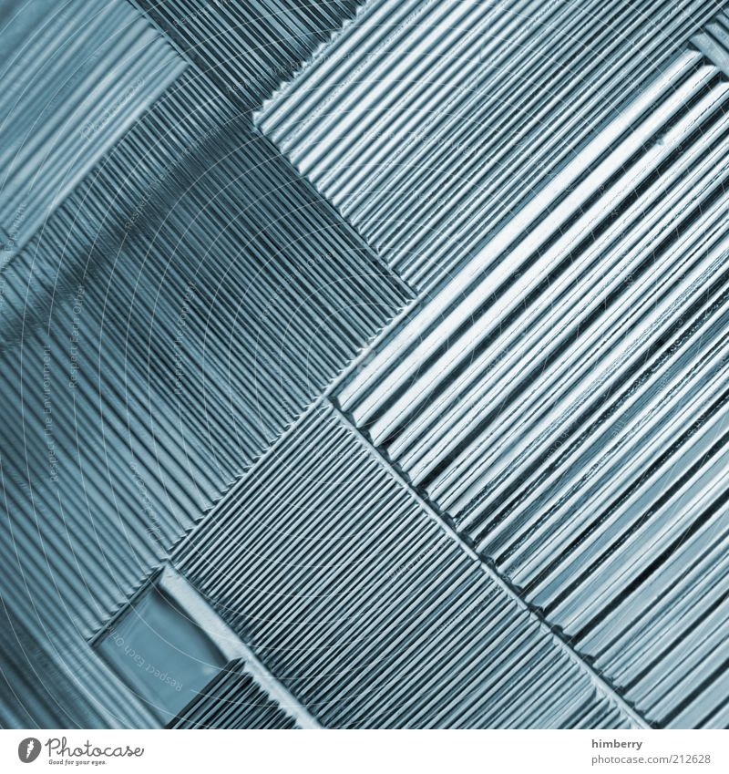 Style Line Metal Art Design Industry Future Technology Construction site Science & Research Steel Craft (trade) Plastic Illustration Diagonal Abstract