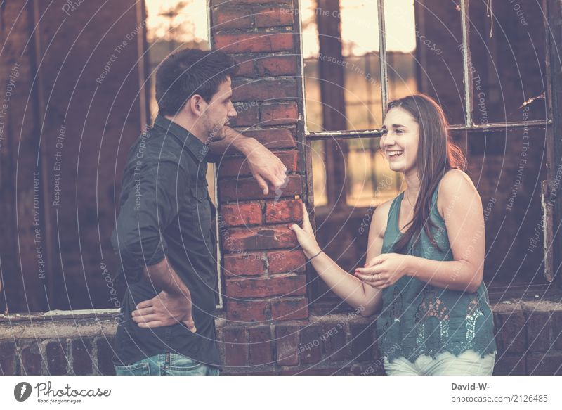 conversations Lifestyle Luxury Style Design Joy Beautiful Healthy Contentment Human being Masculine Feminine Young woman Youth (Young adults) Young man Woman