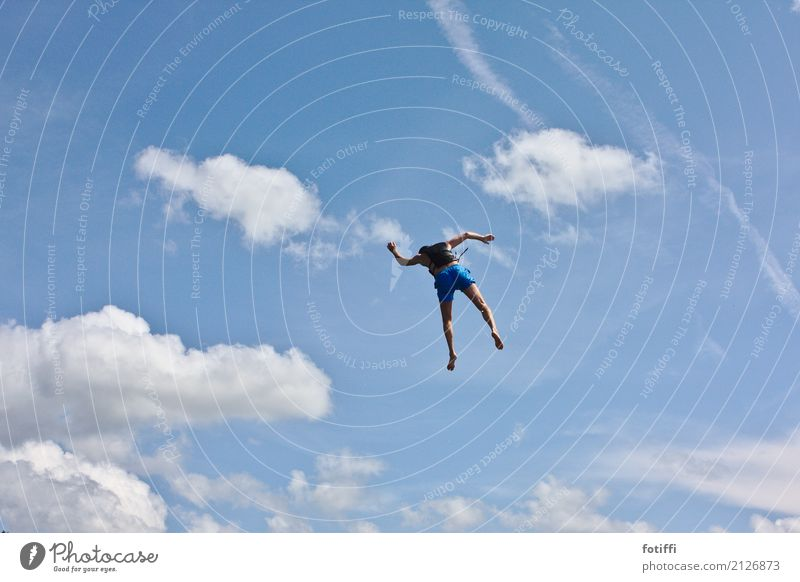 fly guy 1 Human being Masculine Swimming & Bathing Flying Free Weightlessness Exterior shot