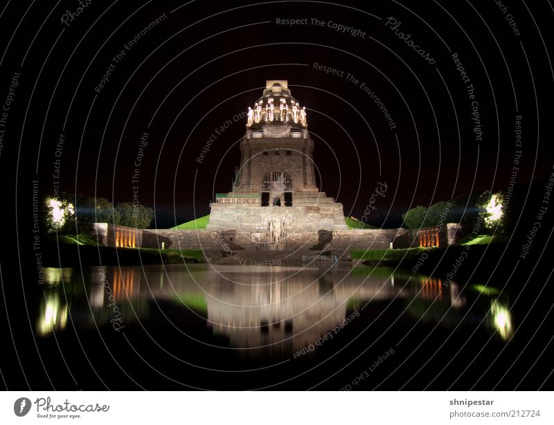 Old Architecture Building Art Culture Manmade structures Past Monument Historic Leipzig Landmark Downtown Tourist Attraction Saxony Long exposure