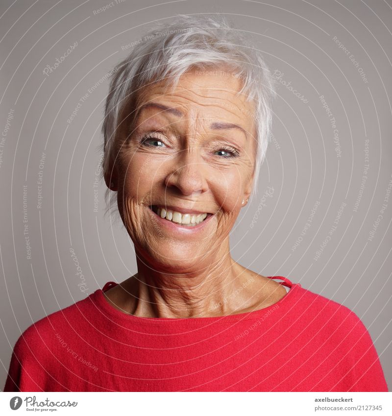 granny young at heart Female senior Grandmother Gray-haired White-haired Human being Feminine Woman Adults Senior citizen 1 60 years and older Short-haired Old