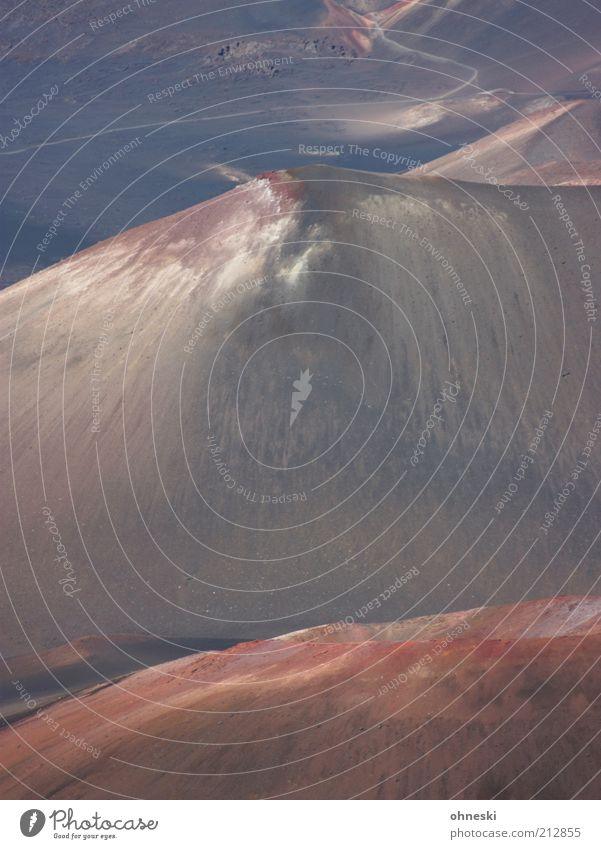 Mountain Landscape Earth Travel photography Volcano Sparse Hawaii Haleakala