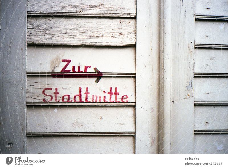 Zur Stadtmitte Old White Red Vacation & Travel Window Wood Door Trip Design Tourism Authentic Exceptional Sign Sightseeing Original Town