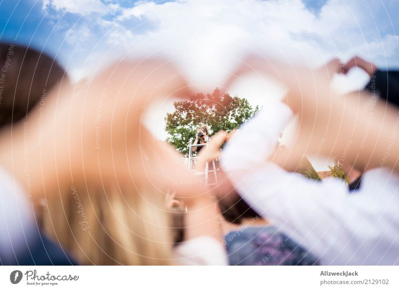 Love & Cheese. Please. Lifestyle Wedding Hand Crowd of people Cliche Happy Happiness Joie de vivre (Vitality) Together Romance Kitsch Group photo Photographer