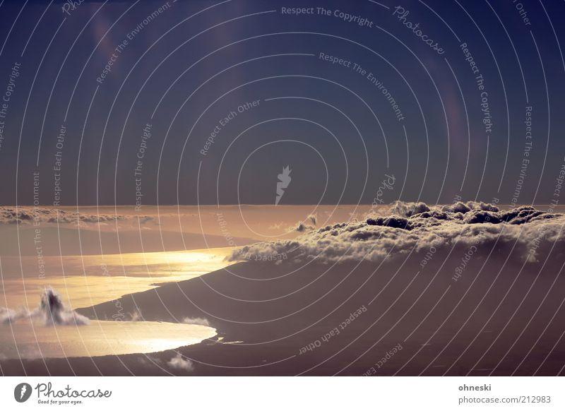 Sky Water Beautiful Summer Ocean Far-off places Earth Coast Air Horizon Hope Fantastic Bay Heavenly Volcano Impressive