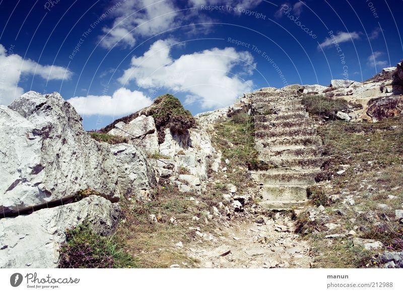 Nature Far-off places Mountain Landscape Environment Lanes & trails Trip Rock Stairs Tourism Authentic Elements Exceptional Hill Derelict Peak