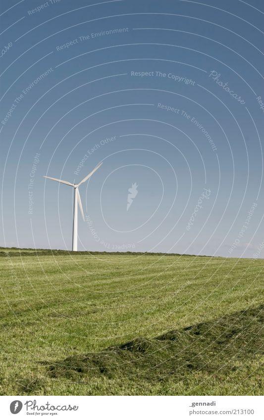 Sky Nature Blue Green Summer Environment Landscape Grass Air Earth Wind Horizon Energy Natural Electricity