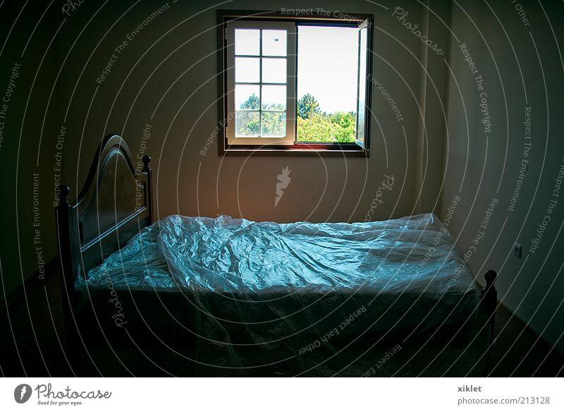 room Blue Dark Window Freedom Sleep New Bed Peace Village Plastic Home Bedroom Rest Room Uninhabited