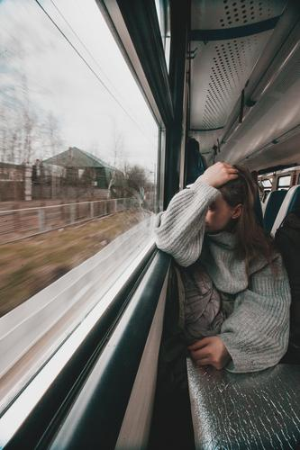 Train journey Lifestyle Leisure and hobbies Vacation & Travel Trip Adventure Far-off places Transport Means of transport Passenger traffic Public transit