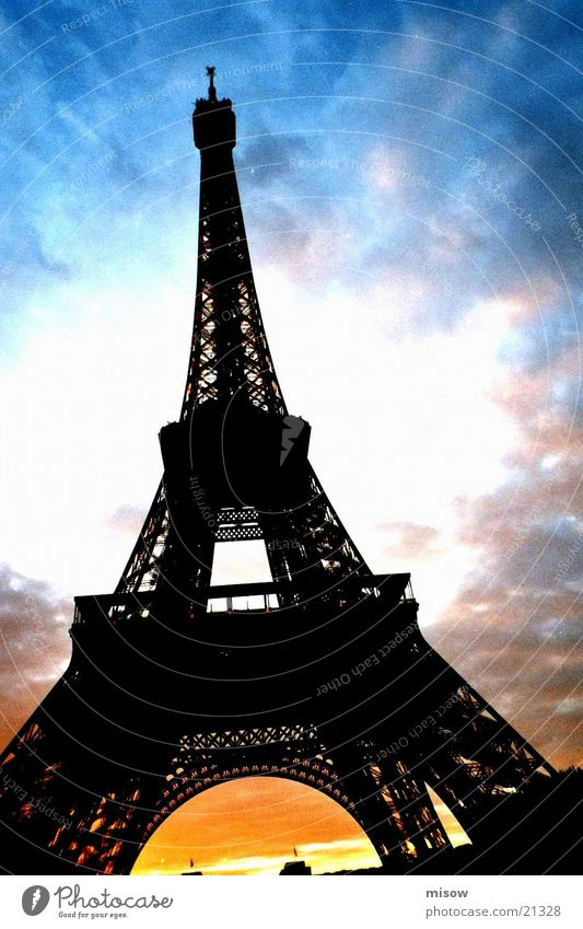 Paris Eiffel Tower Historic Architecture
