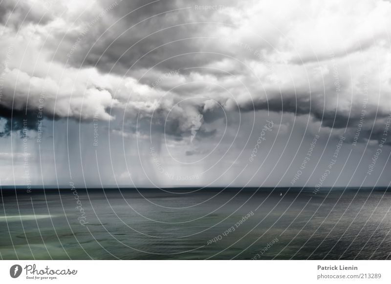 Nature Water Sky White Ocean Clouds Far-off places Gray Rain Landscape Air Coast Waves Fear Wind Weather