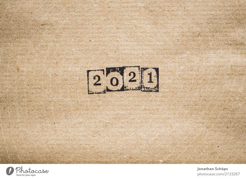 2021 Stationery Future Text Background picture Typography Paper Minimalistic Pistil Brown Wrapping paper Year Year date Calendar Forward-looking