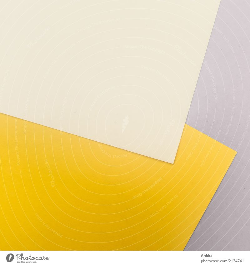 yellow-yellow corner Education School Study Professional training Office work Workplace Business Career Stationery Paper Piece of paper Line Stripe Yellow Gray